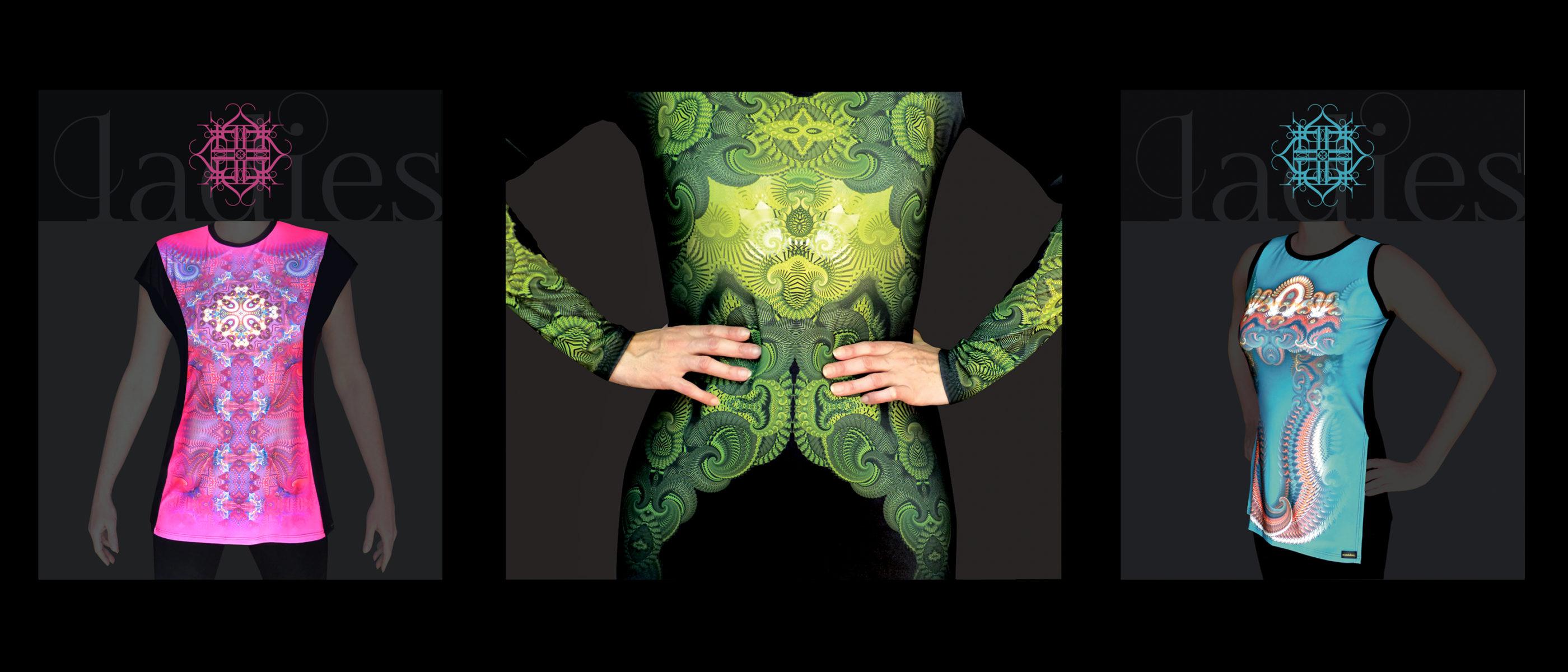egyedi ruha, mandala mintás ruha