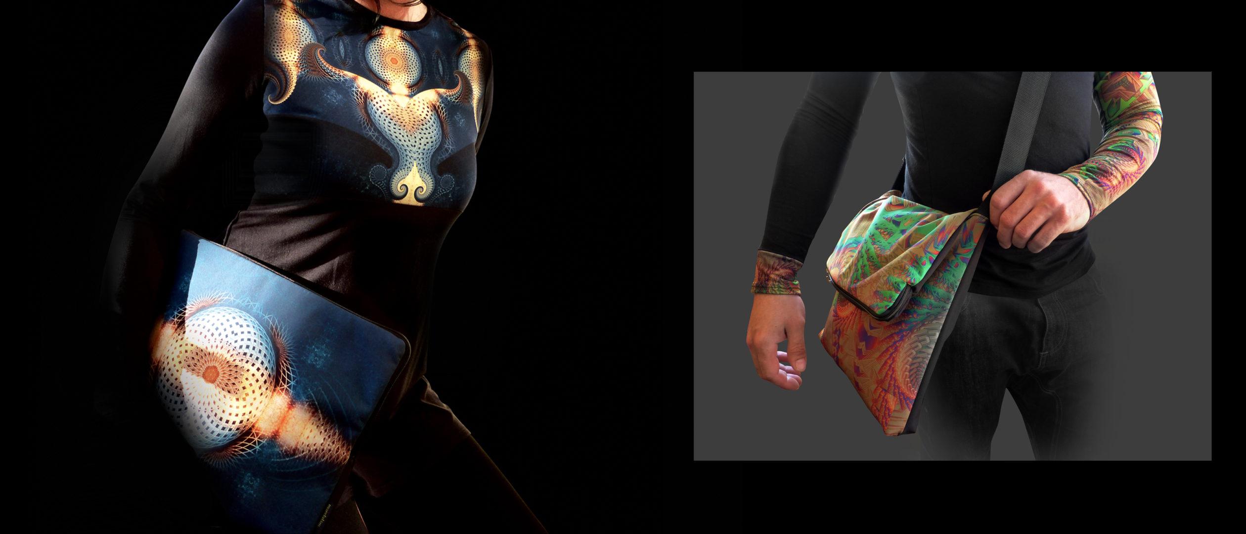egyedi női/férfi táska, mandala minta, kiegészítők