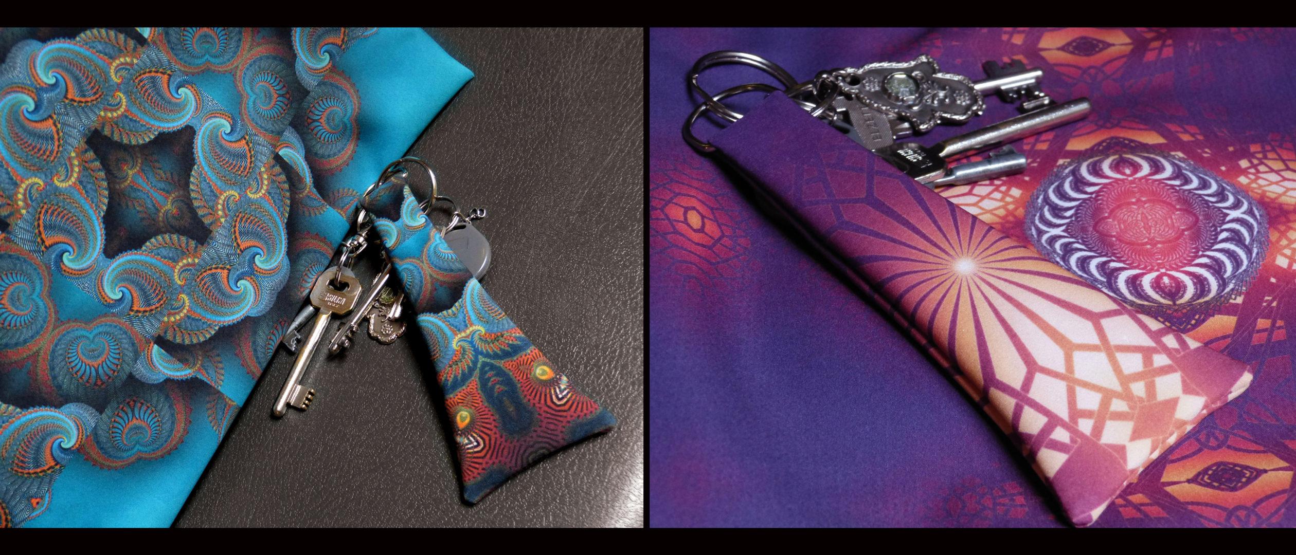 egyedi női táska, mandala minta, cserélhető előlap cipzáros zsebbel